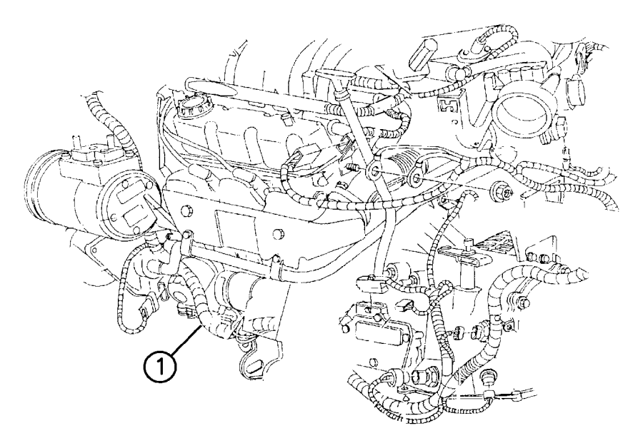 Plymouth Voyager Wiring. Engine. Federal emission
