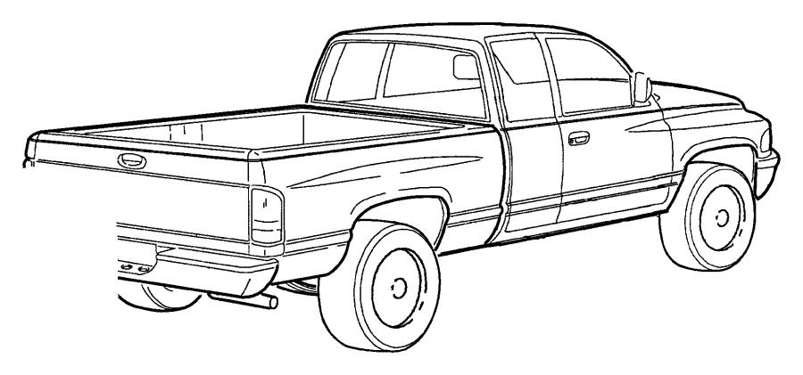 1999 Dodge Ram 2500 REG CAB 8 FT BOX 5.9L CUMMINS 24V