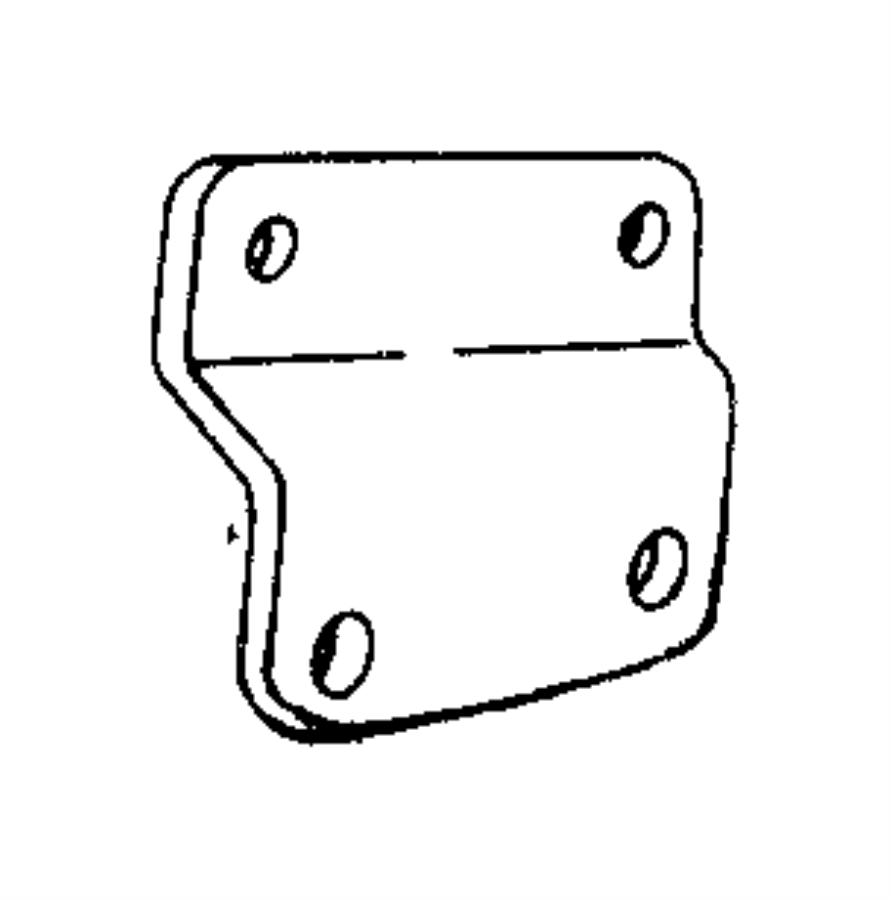 Jeep Wrangler Bracket. Ignition coil. 4.0l engine, coil