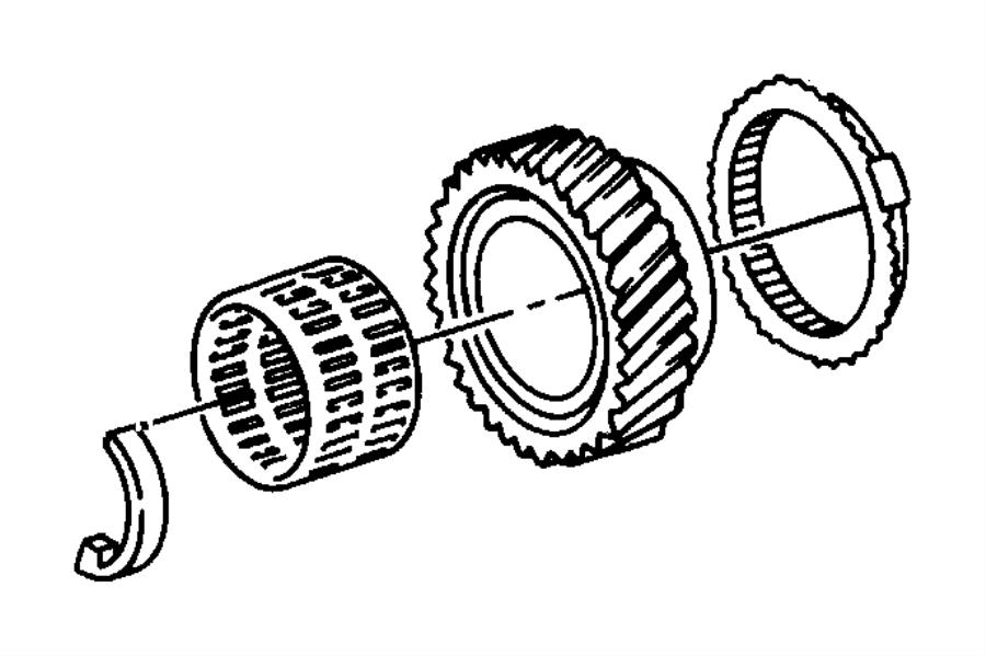 Dodge Dakota Stop ring. Synchronizer. 52108100aa