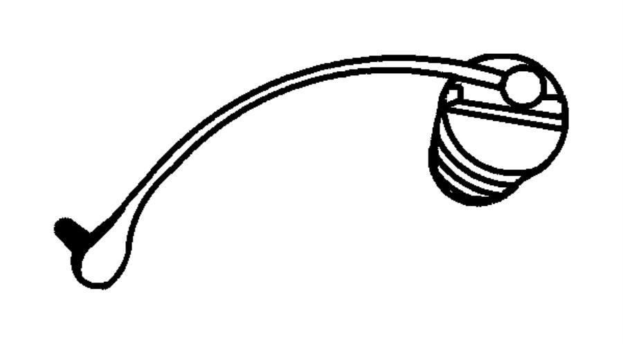 Dodge Ram 1500 Cap. Fuel filler. Export, mexico, none
