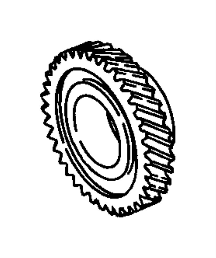 Dodge Neon Gear. Fifth. With transmission # [04668697af