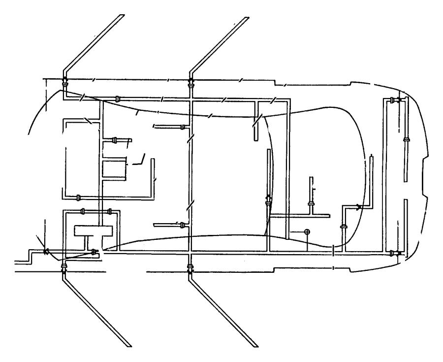 Dodge Intrepid Wiring. Rear door. W/eleven infinity