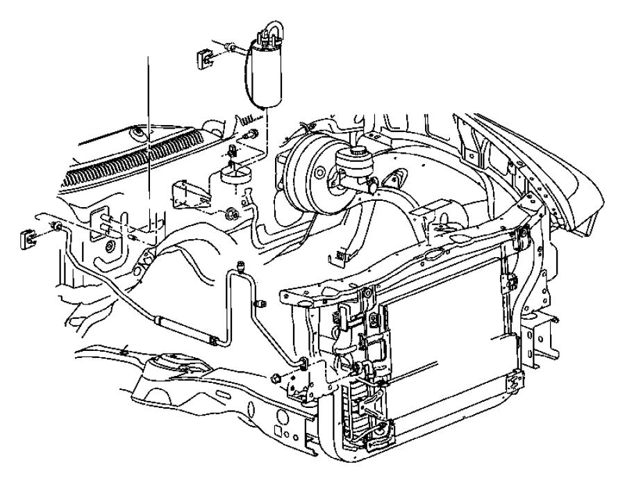 RAM 4500 Valve, valve core. A/c discharge line check, a/c