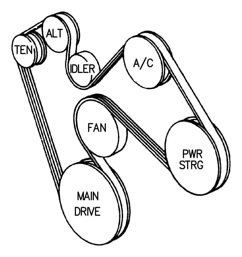 08 nitro belt diagram