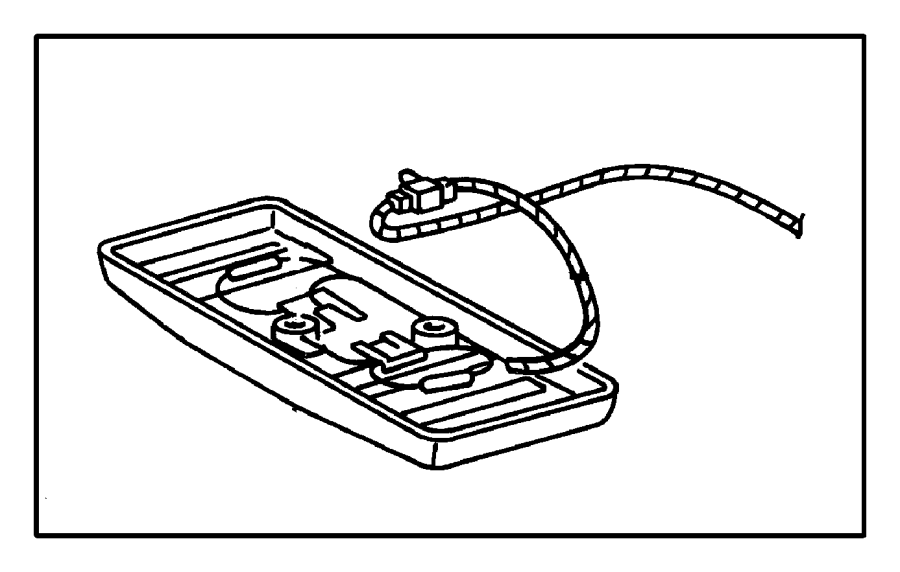 Chrysler Cirrus Wiring. Used for: dome and reading lamp