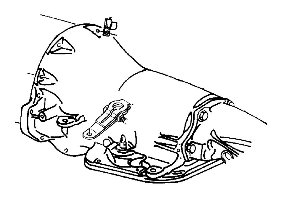 Dodge Ram 1500 Clip. Wiring. Liquid line attaching, with