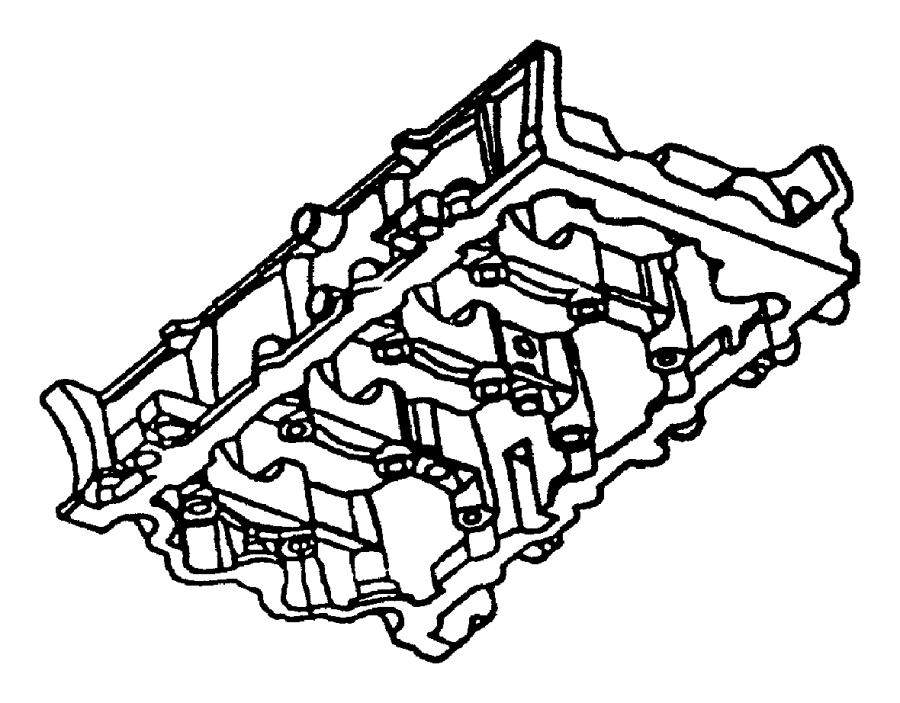 Dodge Neon Dowel, dowel pin. Engine block to bedplate