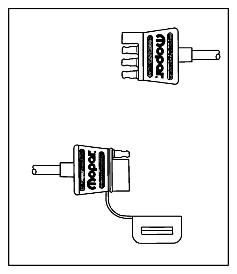 Dodge Ram 1500 Wiring kit. Trailer tow. 4 way flat