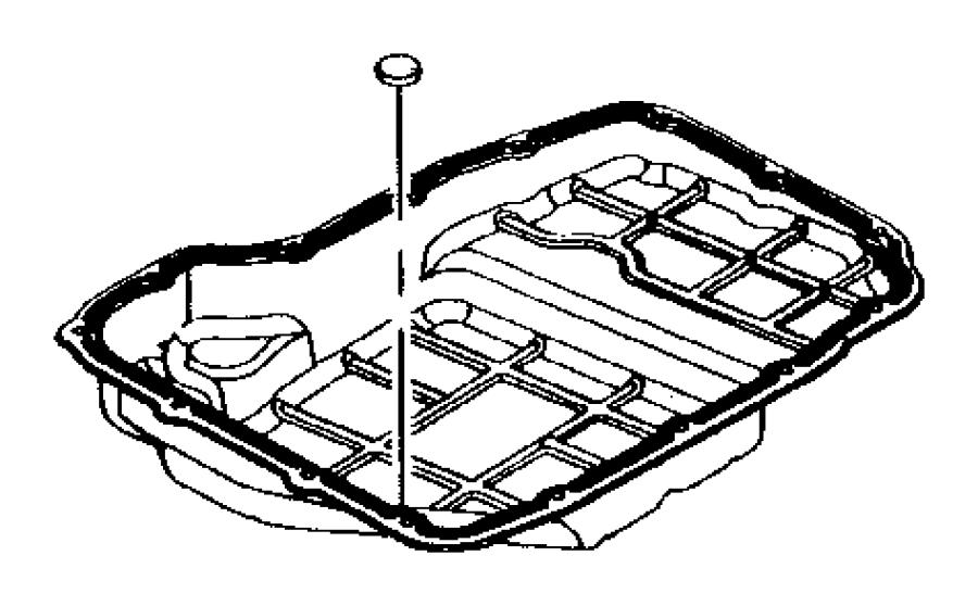 Dodge Dakota Pan. Transmission oil. 52119098