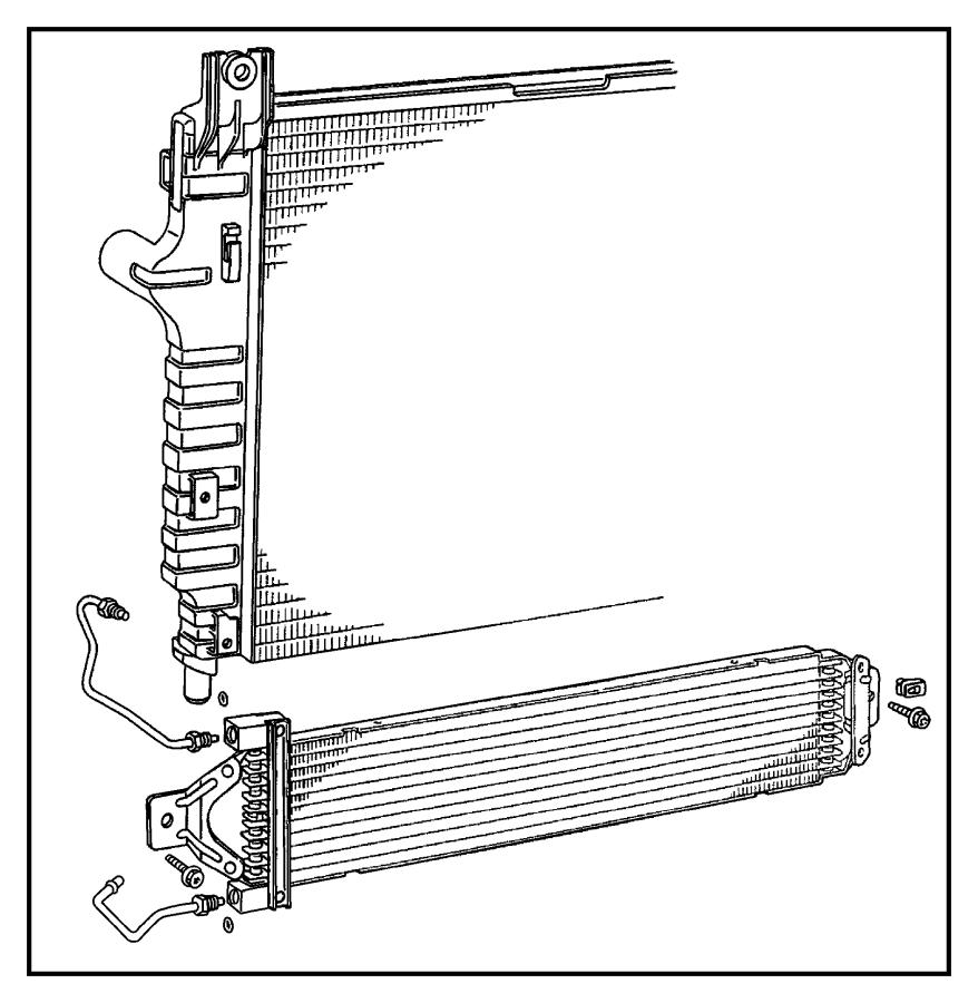 2001 Chrysler Sebring Screw. Decking bracket. M6x1.0