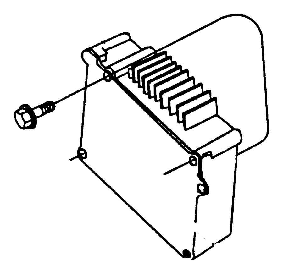 Dodge Caravan Module. Powertrain control. Without egr