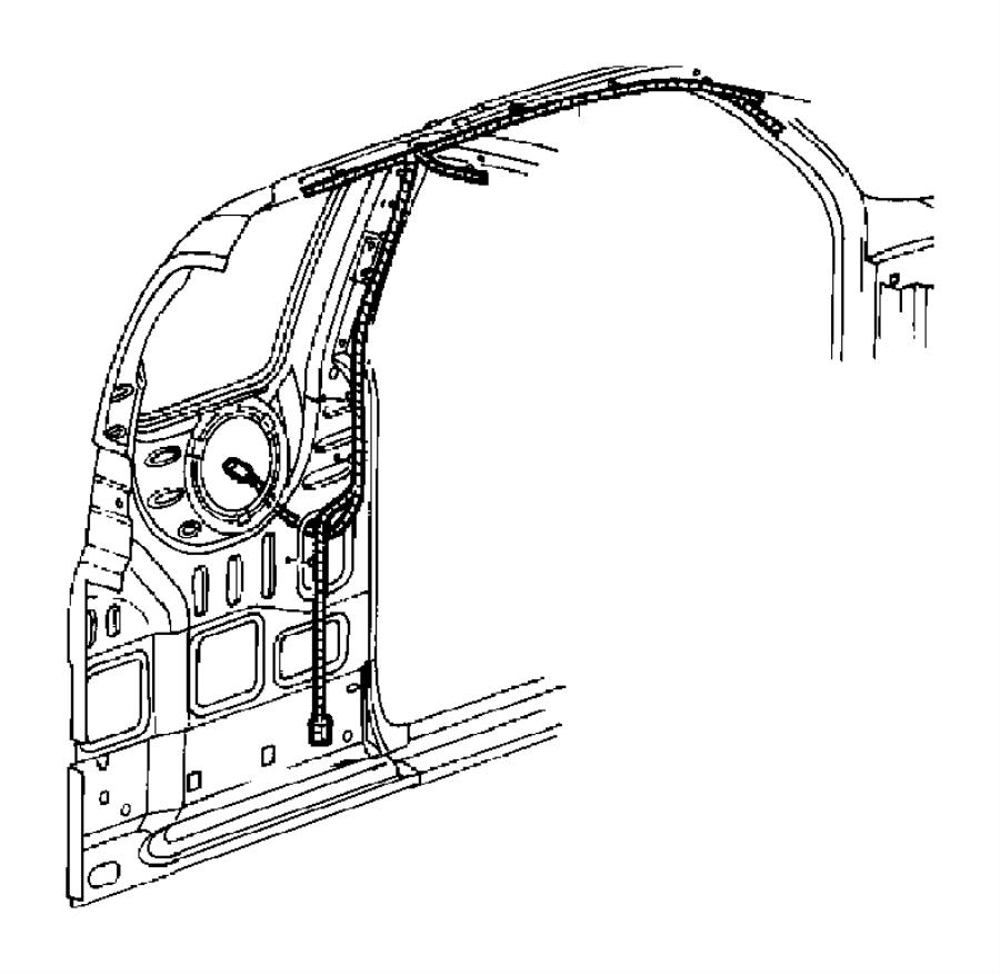 Dodge Dakota Wiring. Body. With mini-overhead console