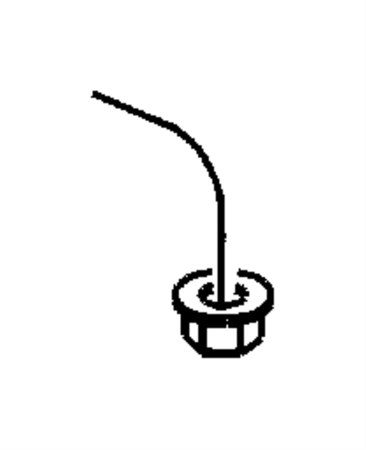 Chrysler Pt Cruiser Pedal. Brake. Manual transmission
