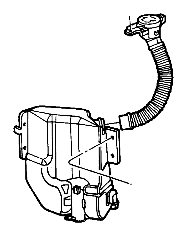 Dodge Stratus Pump. Washer, headlamp. Export. Grouping