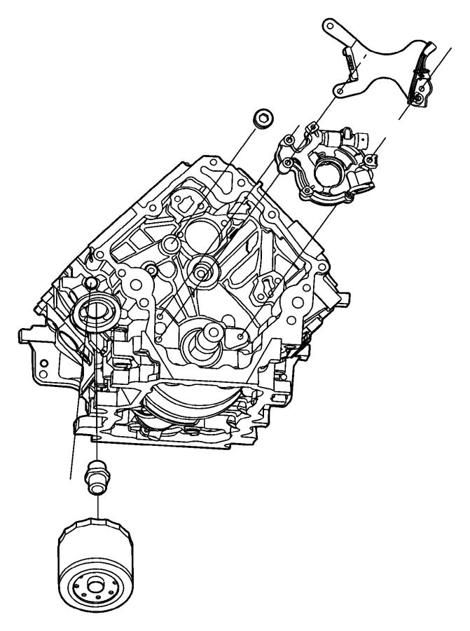 2000 Dodge Plug. Pipe. 500-14x.560. Gallery, clinder