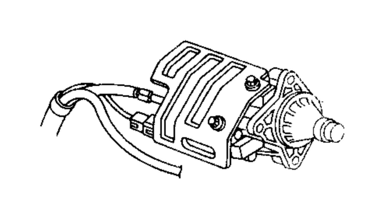Dodge Intrepid Starter Engine