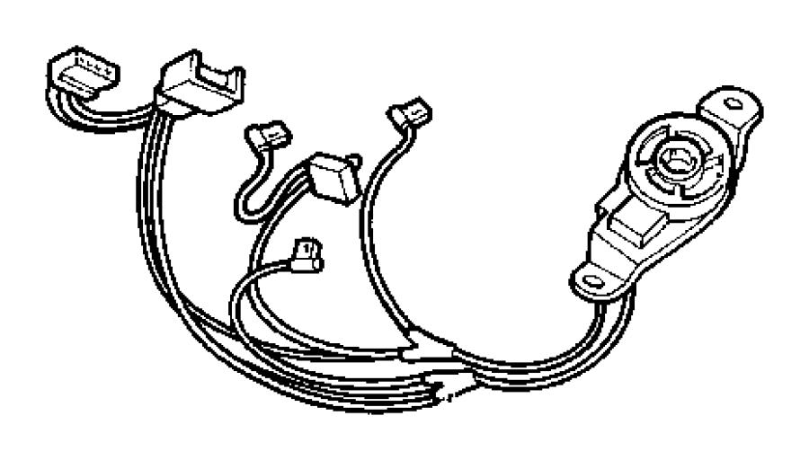 2002 Dodge Dakota Wiring. Overhead console. Trim: [all