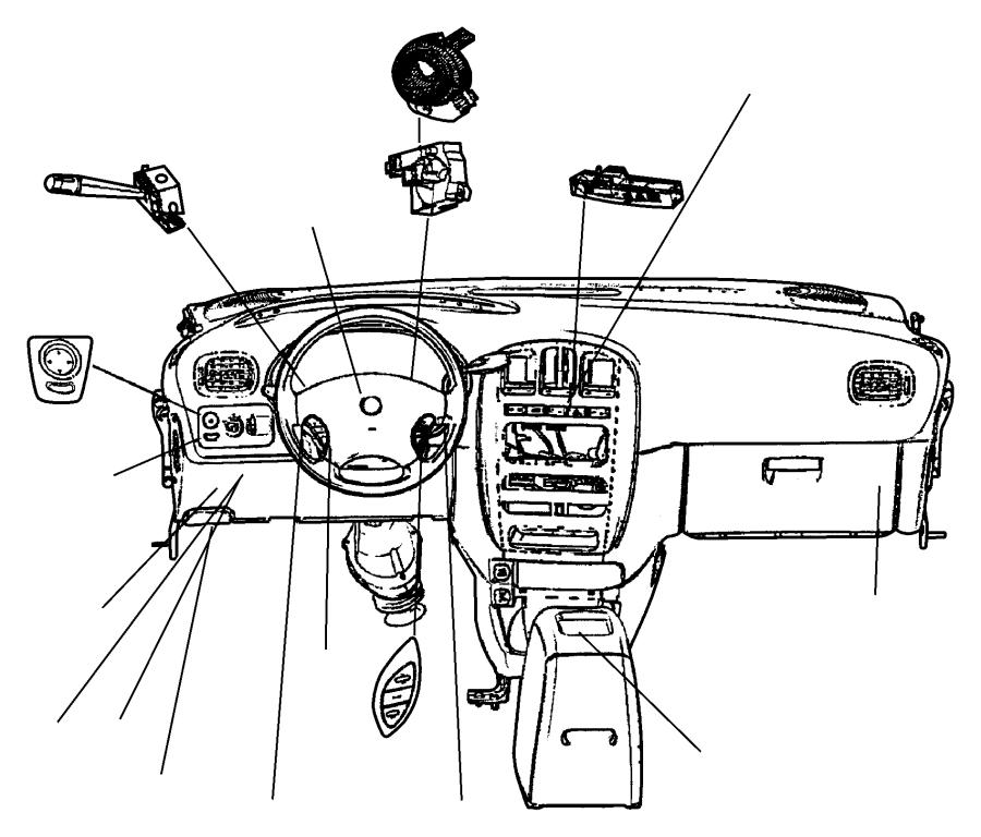 Dodge Grand Caravan Switch. Mirror. Power. Trim: [all trim