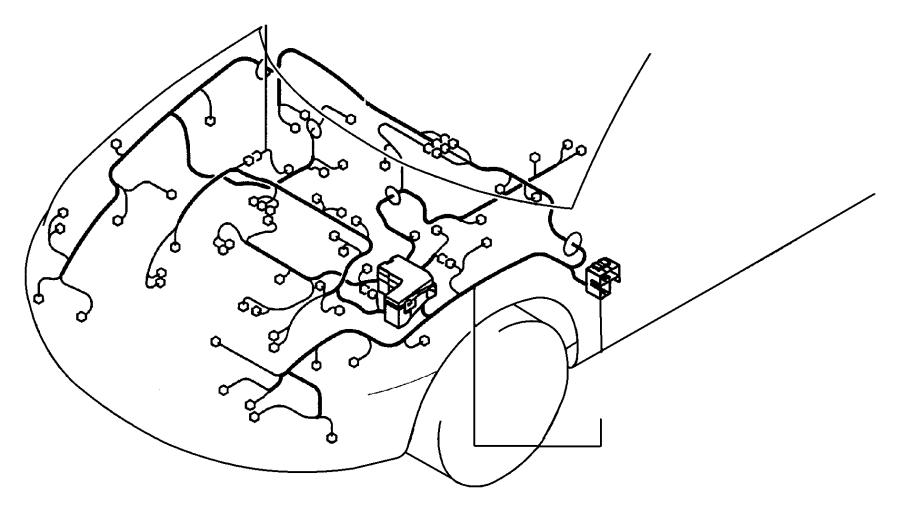 Dodge Stratus Wiring. Jumper. Power steering pump