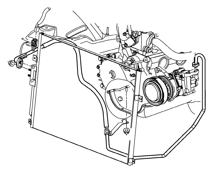 Grand Cherokee Accumulator Condensor And Lines 4 0l Engine