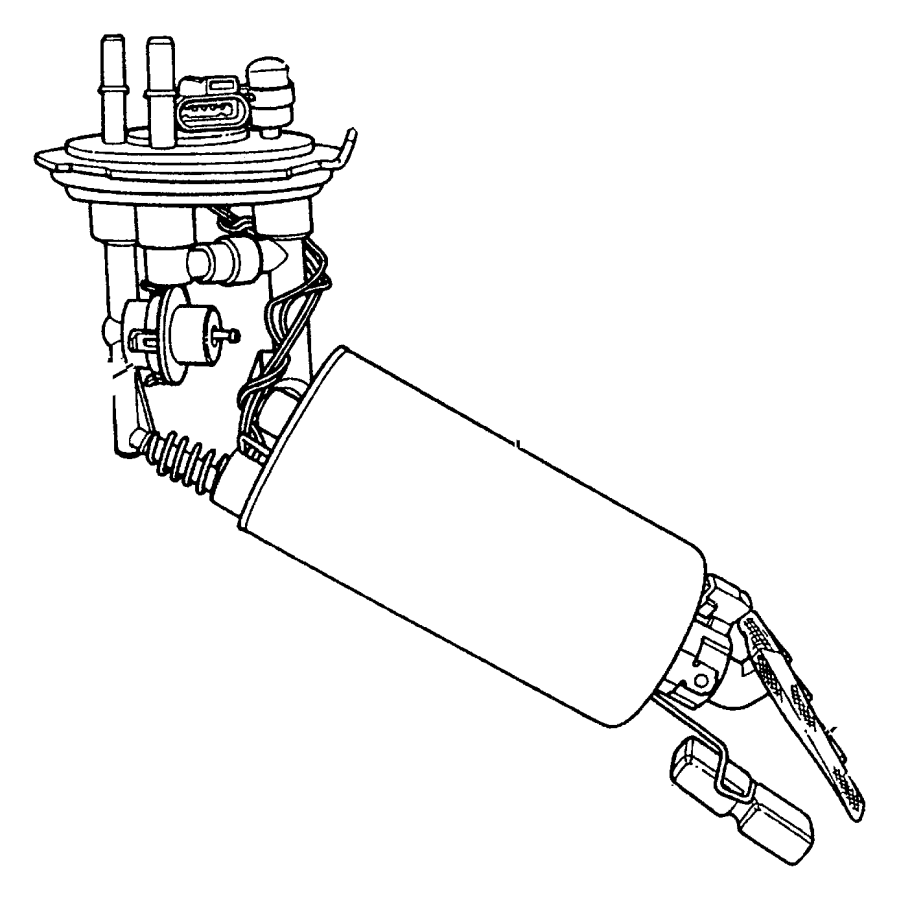 2002 Dodge Dakota Filter. Fuel pressure regulator