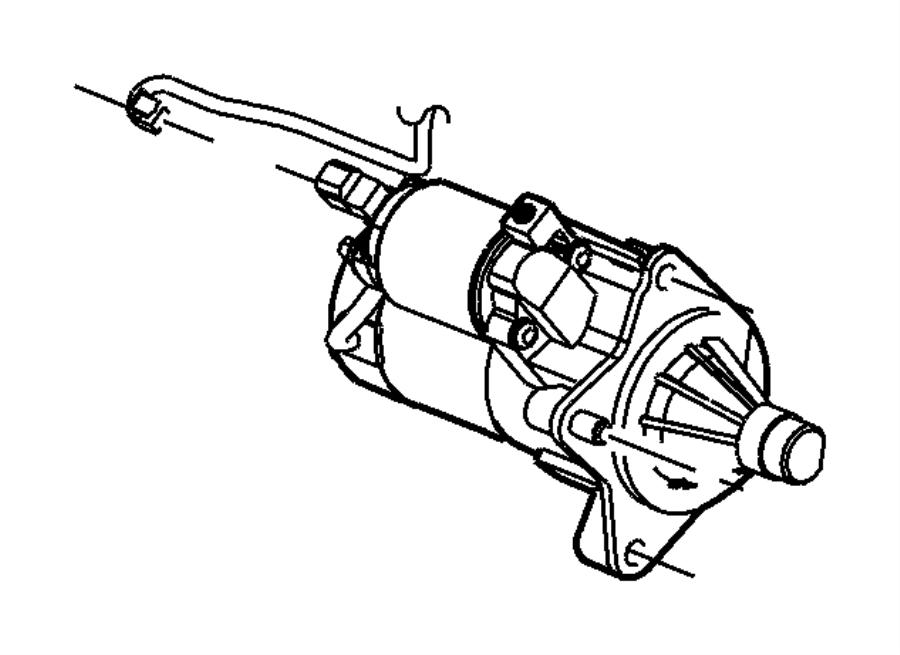 Chrysler Sebring Starter Engine