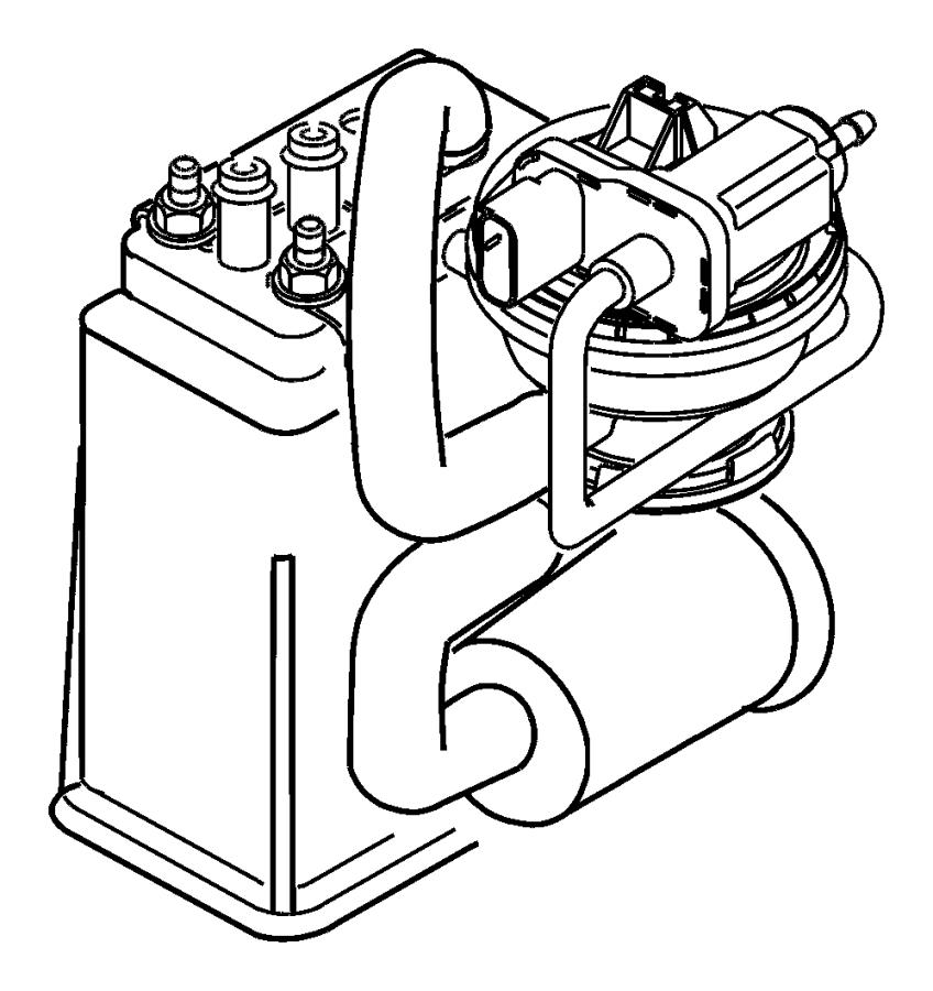 Dodge Neon Hose. Leak detection pump, leak detection pump