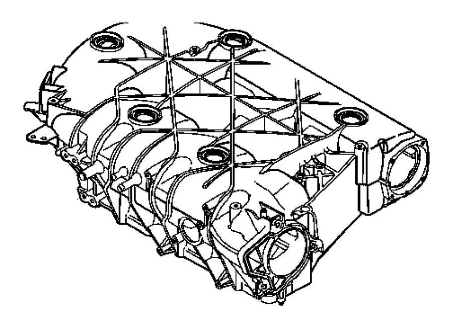 Pacifica Manifold Intake And Exhaust 3 5l Engine Engine