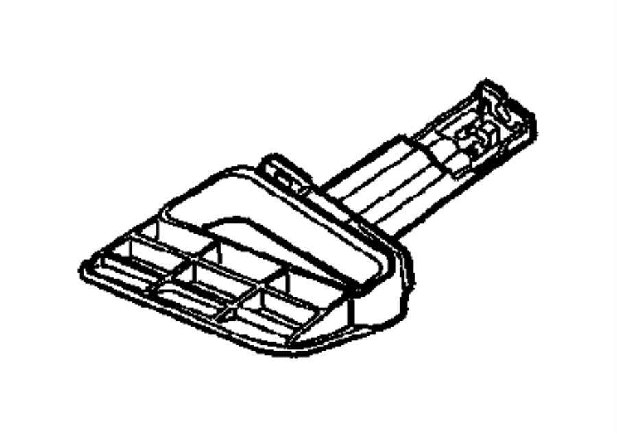 2006 Chrysler Sebring Lever and Cables, Parking Brake.