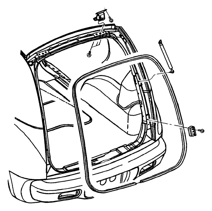 Chrysler Pt Cruiser Plate. Scuff. [dv]. Trim: [all trim