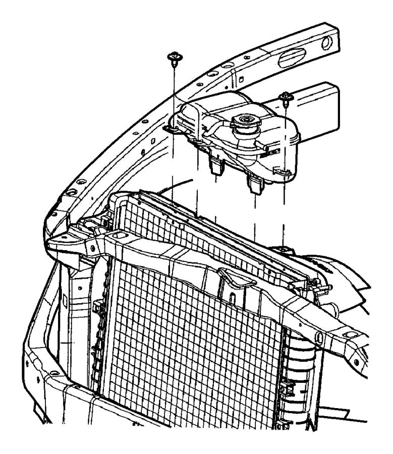 2002 Dodge Ram 1500 QUAD CAB 5.9L Magnum V8 A/T Hose