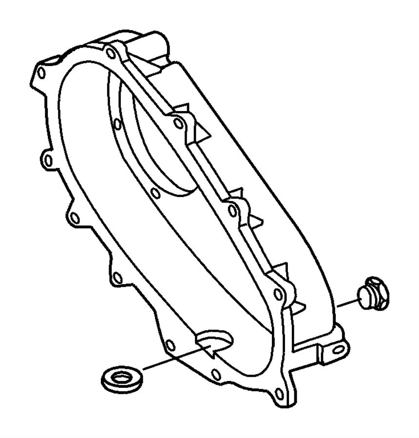 RAM 3500 Filter, tube. Oil pickup, transfer case oil