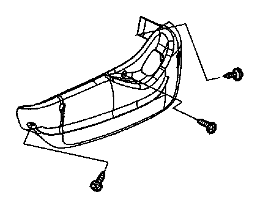 Dodge Grand Caravan Shield side. Seat. Driver, left, power