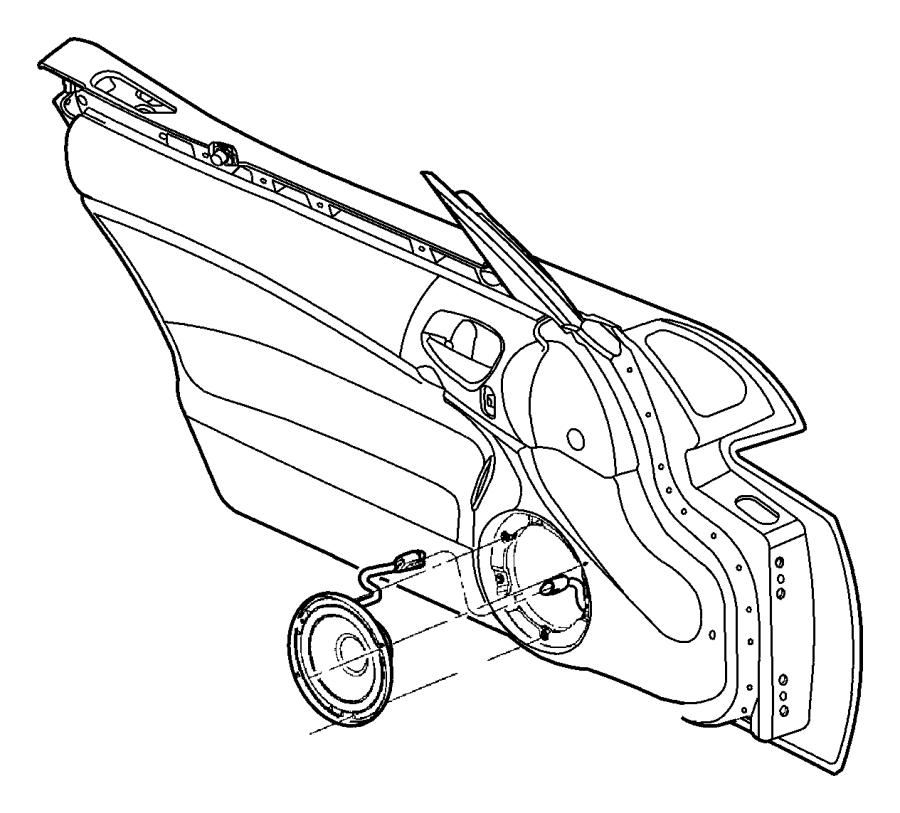 Chrysler Pt Cruiser Bolt, screw. Hex head. M6x1.00x20.00