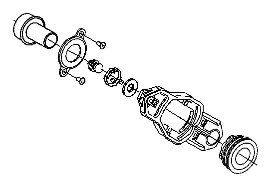 Chrysler Pt Cruiser Boot, seal. Clutch release fork