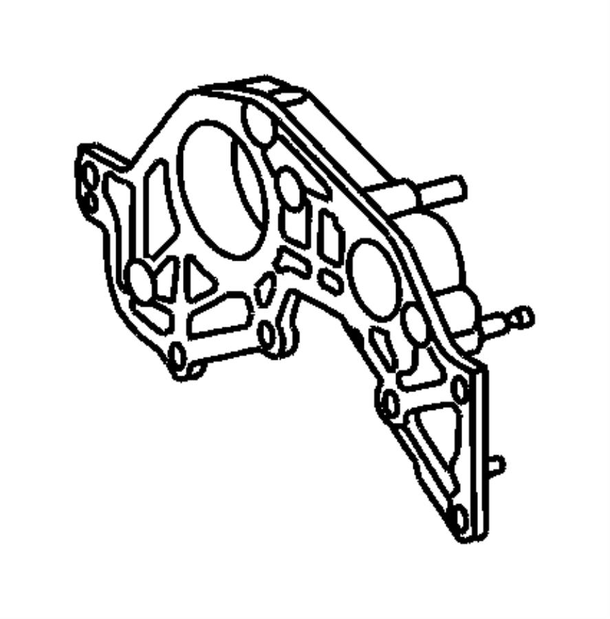 Chrysler Pt Cruiser Bolt, screw. Hex flange head. M8x1