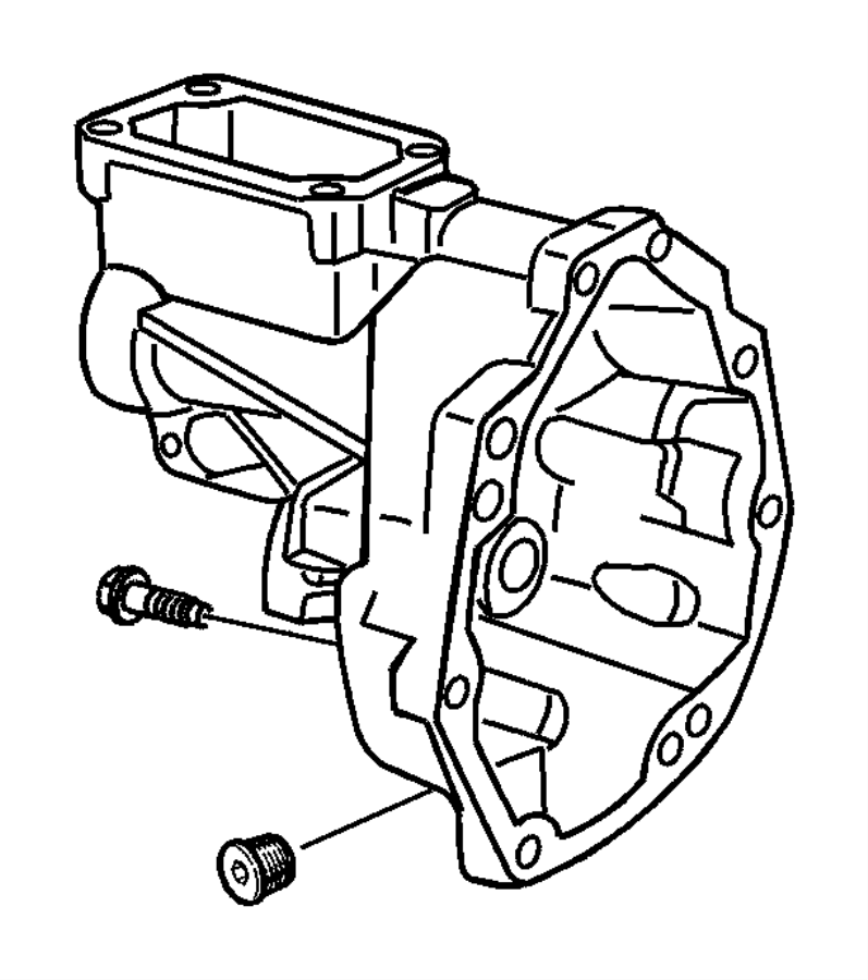 2008 Dodge Viper Plug. Oil fill, transmission drain. Drain