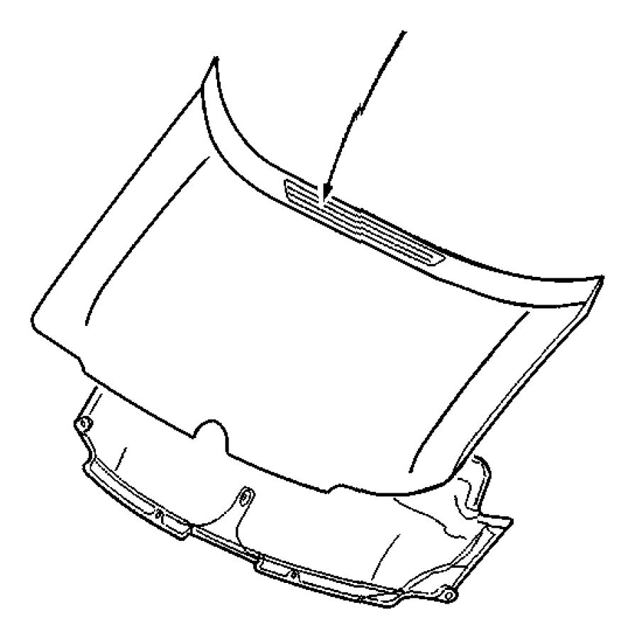 2004 Dodge Insulation. Hood. Namerican, nafta, lafrance