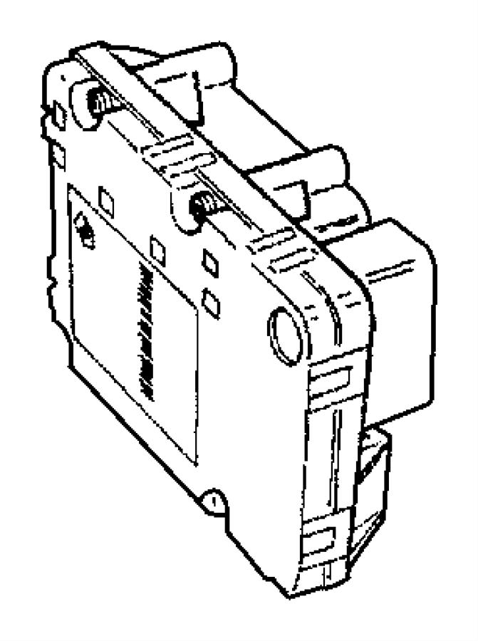 2006 Dodge Grand Caravan Modules--Electronic.