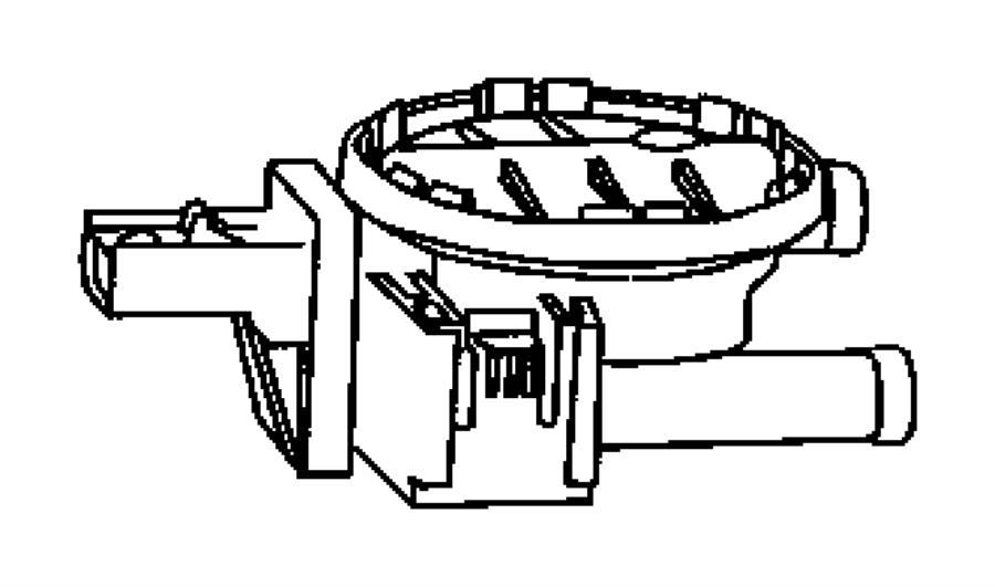 2007 Dodge Detector. Natural vacuum leak detection