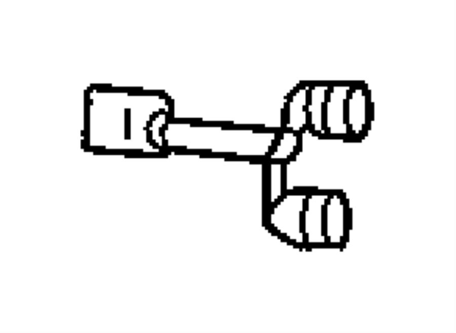 Dodge Neon Switch. Clutch starter interlock. [pedals