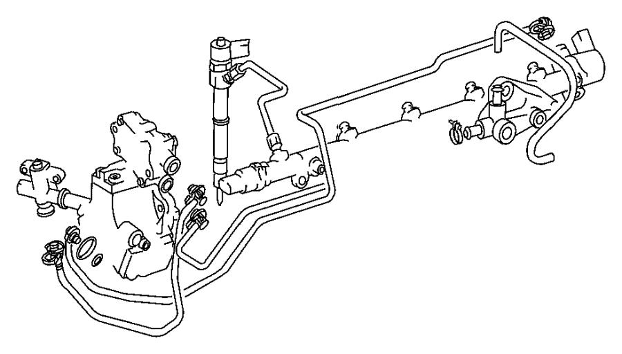 Dodge Sprinter 2500 Line. Feed pump fuel pressure sensor