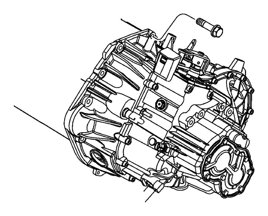 Chrysler Pt Cruiser Transmission. With stamp # [05274888ac