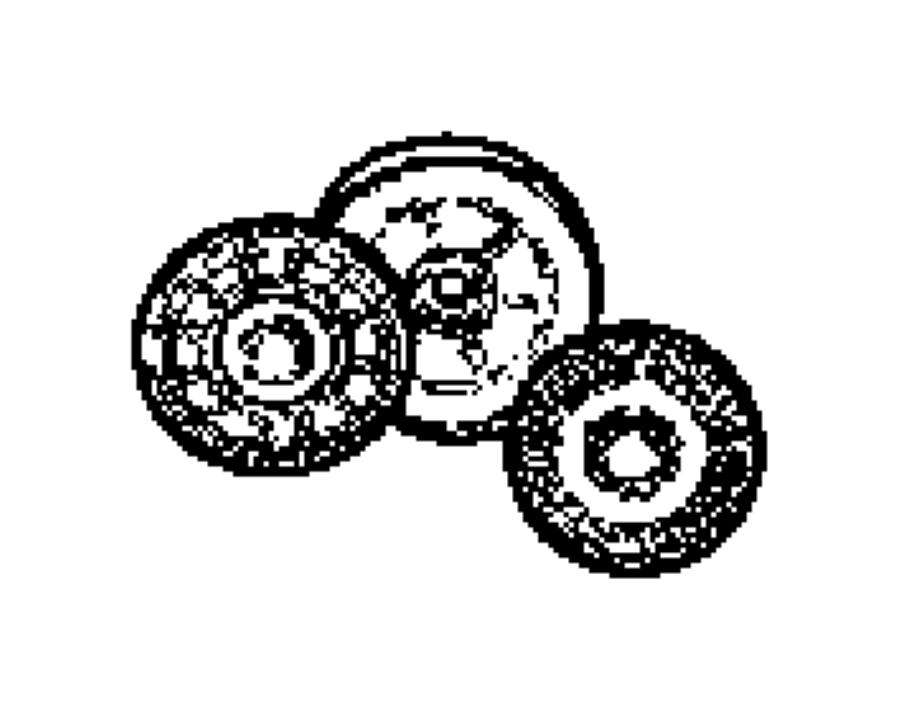Dodge Nitro Tensioner. Belt. [magnum 3.7l v6 engine