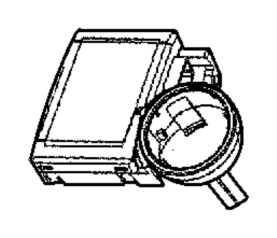 2005 Dodge Module, receiver. Immobilizer, keyless entry