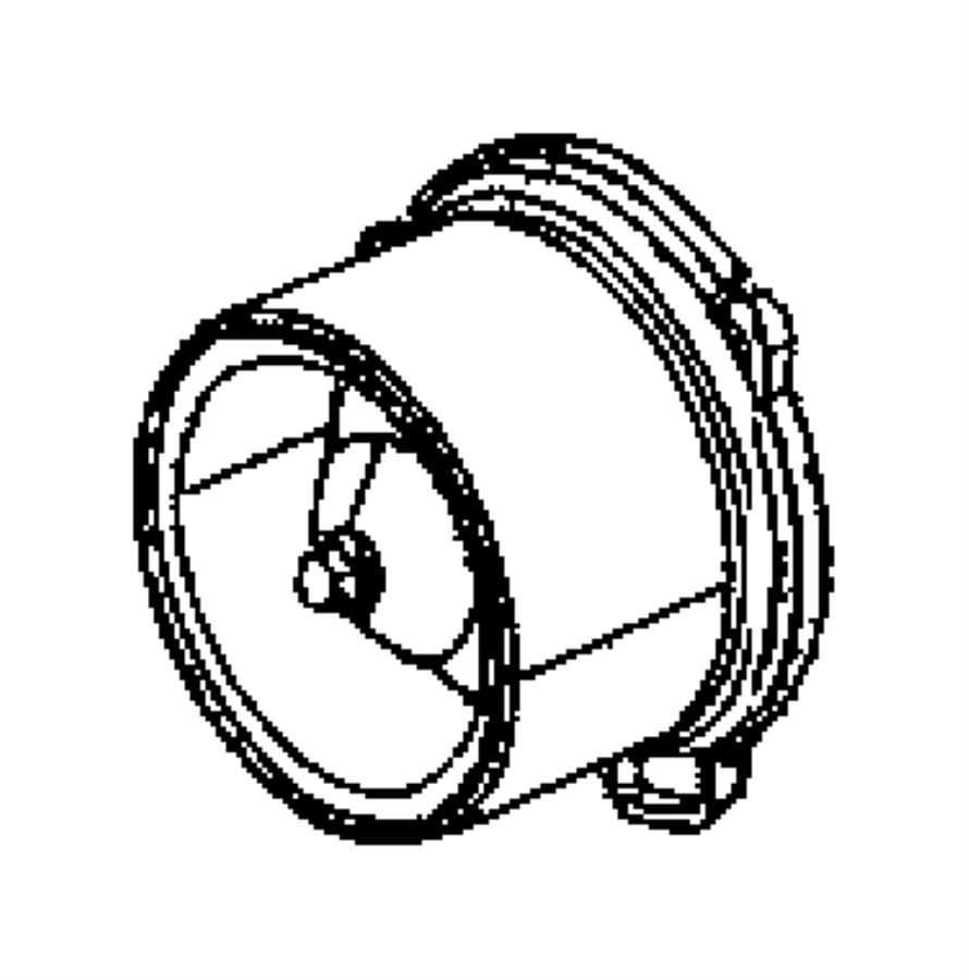Chrysler Aspen Motor. Blower with wheel. Up to 1-3-08