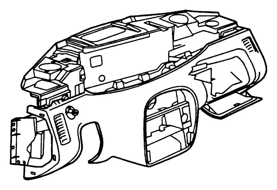 Plymouth Prowler Bracket. Fuse block. Trim: [all trim