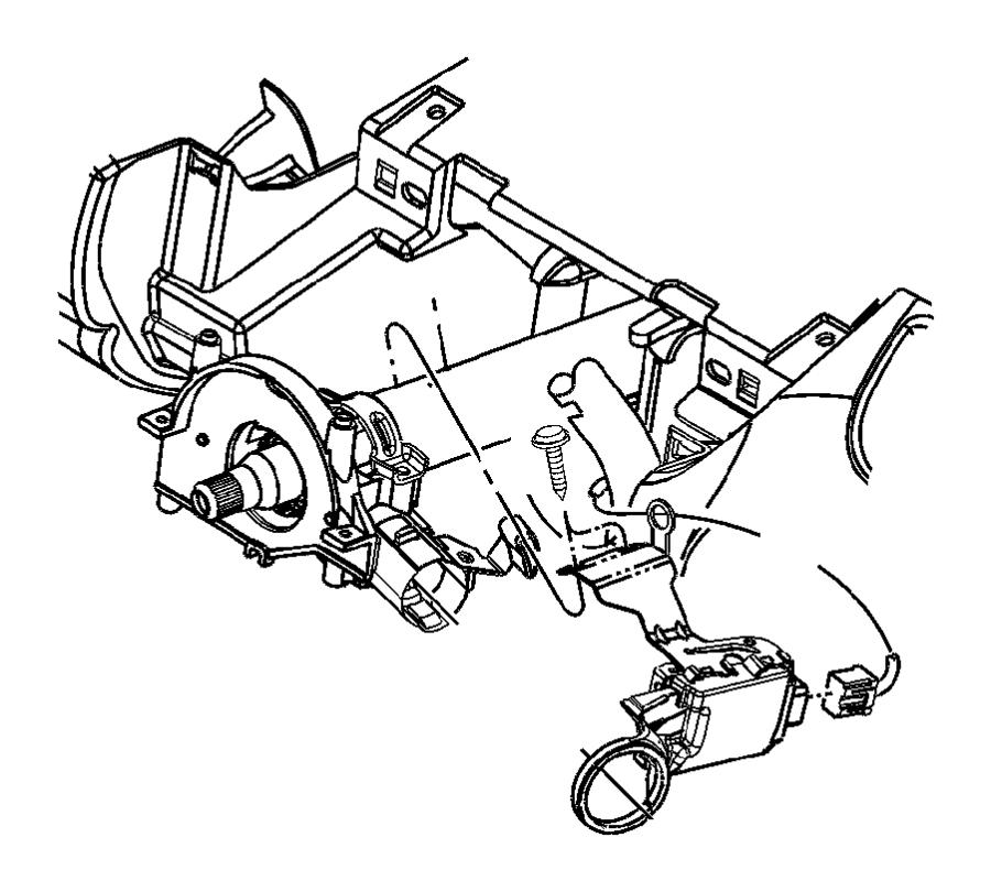 Dodge Dakota Module. Immobilizer. Sentires, cylindar
