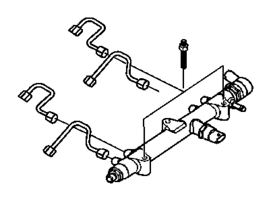 2006 Jeep Liberty Sensor, solenoid. Export. Fuel pressure